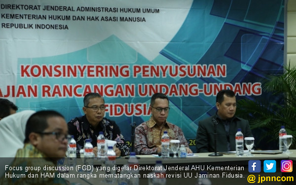 Matangkan Revisi UU Fidusia demi Dongkrak Posisi RI di EoDB - JPNN.COM