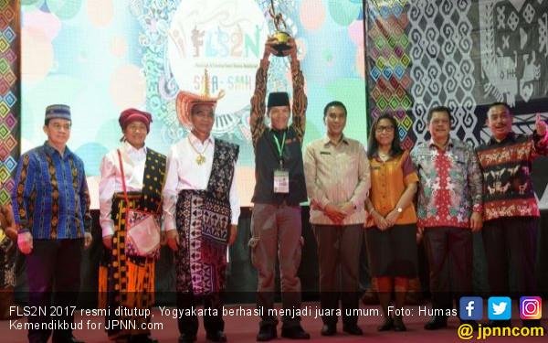 FLS2N 2017 Resmi Ditutup, Yogyakarta Juara Umum - JPNN.COM