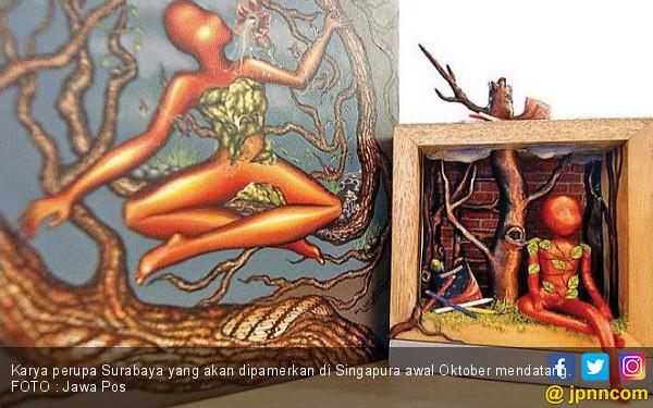 Tiga Seniman Surabaya Bakal Pameran di Singapura - JPNN.COM