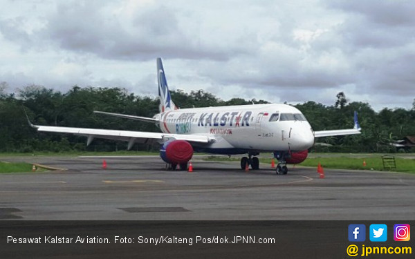 4 Rute Kalstar Aviation Dibekukan - JPNN.COM