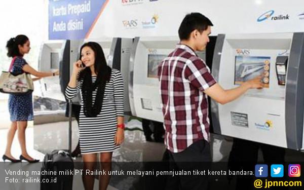Railink Kenalkan Sistem Ticketing Kereta Bandara Soetta - JPNN.COM