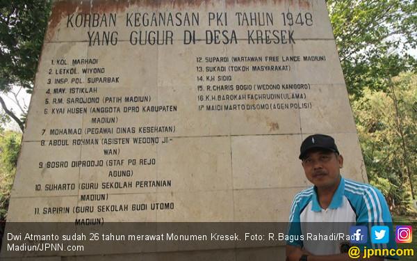 Monumen Kresek, Kiai Husein Dipaksa Jongkok, Dihabisi PKI - JPNN.COM