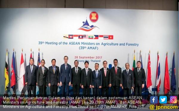 Mentan Pimpin Indonesia Pada Pertemuan Tingkat ASEAN - JPNN.COM