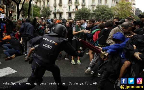 Spanyol Halalkan Segala Cara demi Mencegah Catalunya Merdeka - JPNN.COM