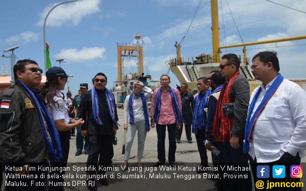 Komisi V Tinjau Infrastruktur MTB untuk Dukung Blok Masela - JPNN.COM