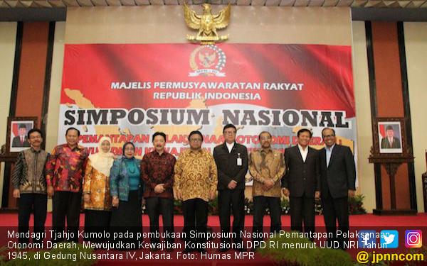 DPD Berperan Menjalankan Kewajiban Konstitusional Dalam Otda - JPNN.COM