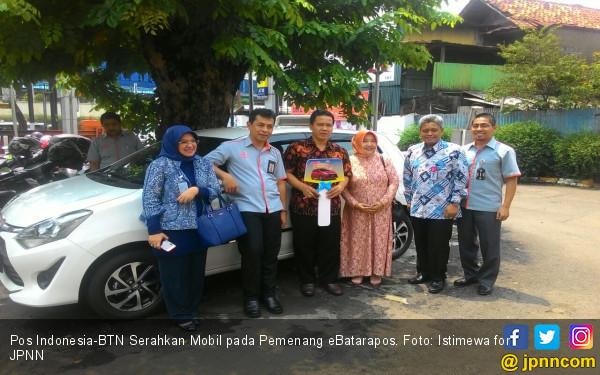 Pos Indonesia-BTN Serahkan Mobil pada Pemenang eBatarapos - JPNN.COM