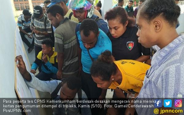 Papua Minta Perlakuan Khusus Tes CPNS 2018, Ini Respons BKN - JPNN.COM