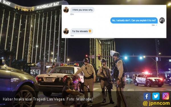 Kicauan Hoaks di Tengah Tragedi Las Vegas - JPNN.COM
