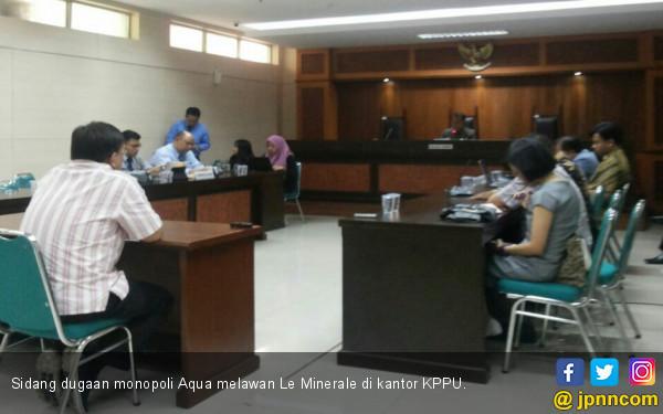 KPPU Nyatakan Saksi Distributor Aqua Tak Miliki Substansi - JPNN.COM