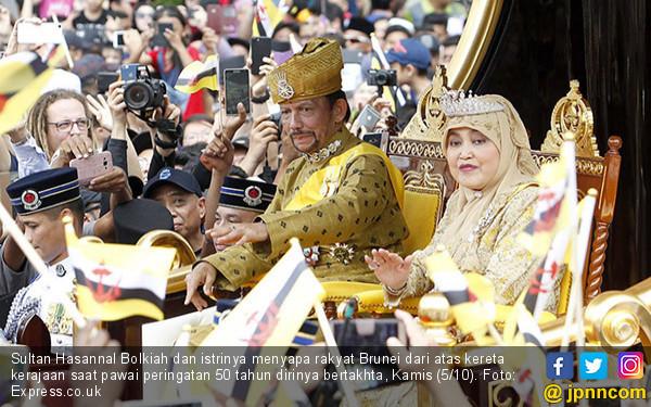 50 Tahun Berkuasa, Sultan Brunei Gelar Pesta Sebulan Penuh - JPNN.COM
