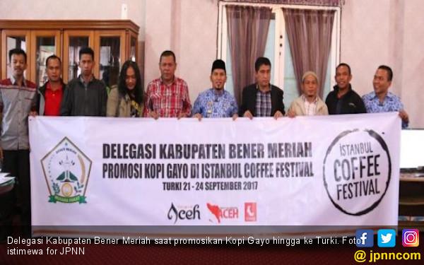 Gubernur Aceh Promosikan Kopi Gayo hingga ke Turki - JPNN.COM