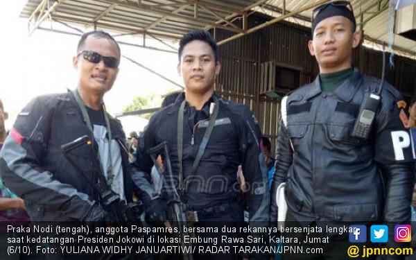 Cerita Praka Nodi, Anak Petani Anggota Paspampres - JPNN.COM