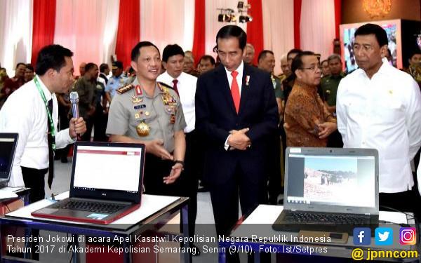 Presiden Jokowi: Asal TNI dan Polri Solid, Selesai Semuanya - JPNN.COM