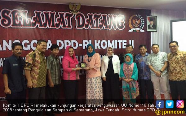 Komite II DPD RI Meninjau TPA di Semarang - JPNN.COM