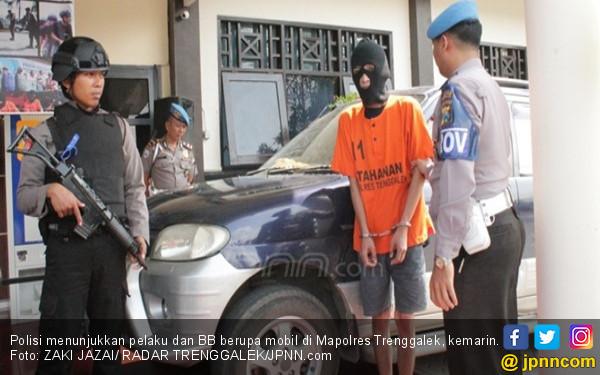 Andres Bawa Kabur Mobil Tetangga, Modus Alamat Palsu - JPNN.COM
