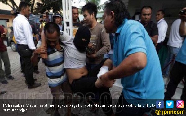 Polrestabes Medan Tembak Mati 77 Begal Selama 2017 - JPNN.COM