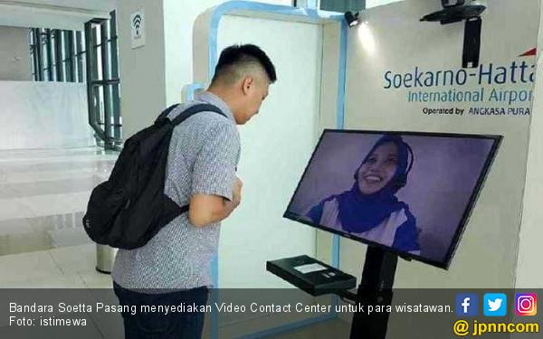 Makin Nyaman, Bandara Soetta Pasang Video Contact Center - JPNN.COM