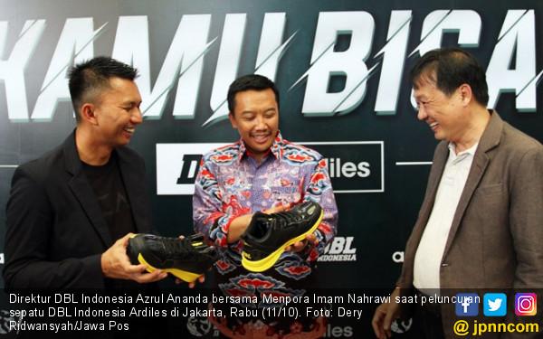 DBL Indonesia dan Ardiles Luncurkan 5 Seri Sepatu Basket - JPNN.COM