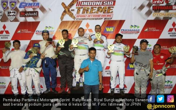 Rizal Sungkar Juara Sprint Rally, Rifat Podium 2 IXSOR - JPNN.COM
