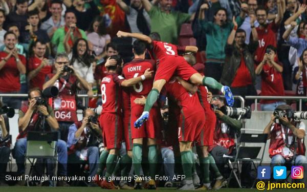 Salip Swiss, Portugal Lolos ke Piala Dunia 2018 - JPNN.com