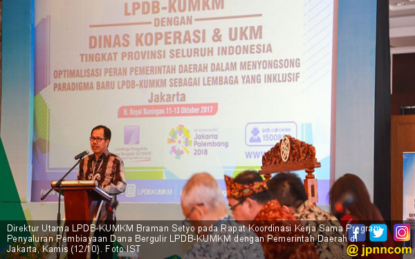 LPDB Dorong Dinas Koperasi dan UKM Menyeleksi Calon Mitra - JPNN.COM