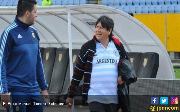 Dukun di Balik Lolosnya Lionel Messi Cs ke Piala Dunia 2018 - JPNN.COM