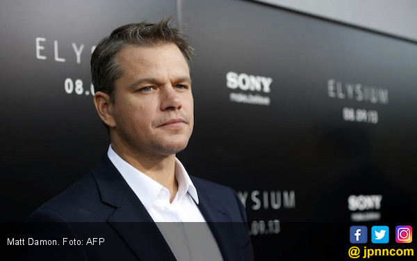 Dituduh Melindungi Produser Cabul, Matt Damon Bersuara - JPNN.COM