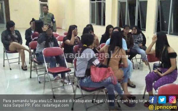 Hmmm, Beginilah Penampakan LC Karaoke di Kabupaten Tegal - JPNN.COM