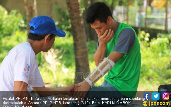 Tangan Pesilat Popnas Patah, Hanya Dibawa ke Dukun - JPNN.COM