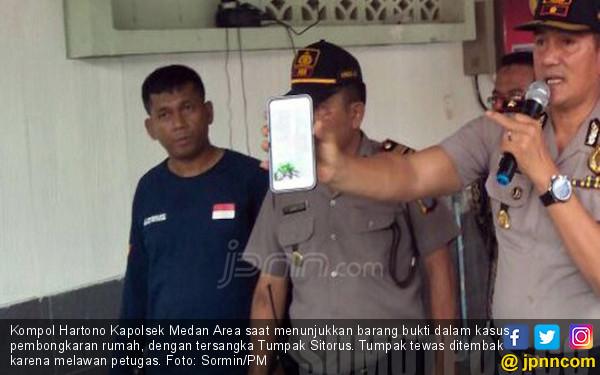 Bandit Pembongkar Rumah di Medan Tewas Diterjang Peluru - JPNN.COM