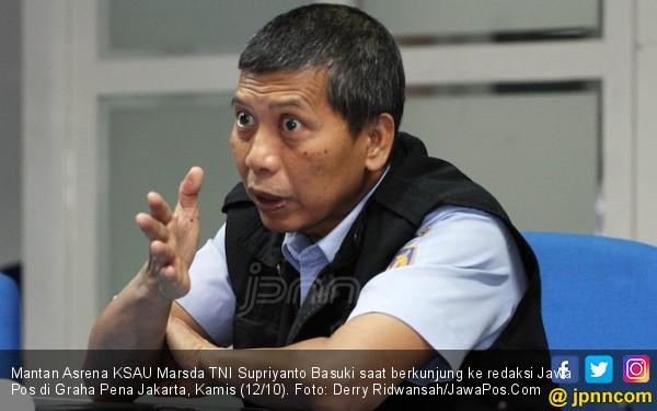Jadi Tersangka Korupsi Heli TNI, Marsda Basuki Bilang Begini - JPNN.COM