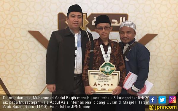 Panglima TNI Bangga Anak Bangsa Juara Hafiz di Mekkah - JPNN.COM
