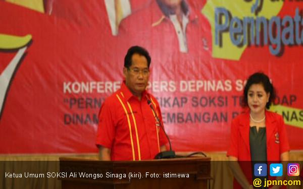 Ali Wongso: Lieus Sudah Tidak Ada Hubungan dengan SOKSI - JPNN.com