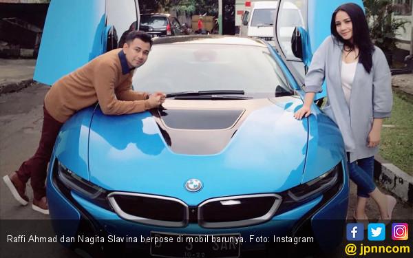 Mobil Lamborghini Milik Raffi Ahmad Terbakar, Nagita Slavina: Bukannya Enggak Sedih - JPNN.com