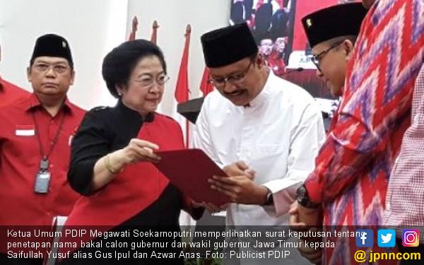 Gus Ipul Sedih Banget Anas Mundur - JPNN.COM
