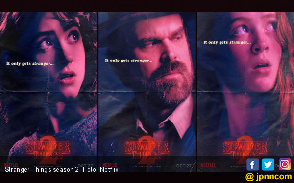 Netflix Rilis Teaser Musim ke-3 Stranger Things - JPNN.COM