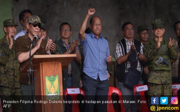 Habis Sudah, Duterte Nyatakan Marawi Bebas dari Teroris - JPNN.com