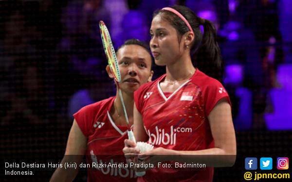 Yes! Della/Rizki dan Hafiz/Gloria Lolos 16 Besar All England - JPNN.COM