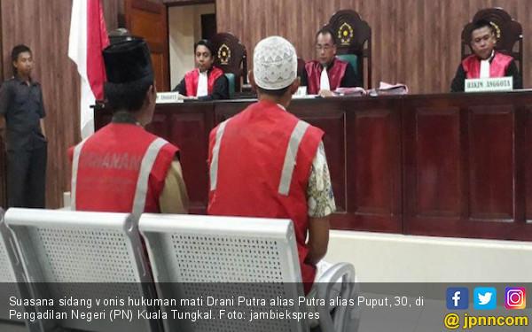 Top, Hakim Vonis Mati Kurir Narkoba Ini - JPNN.COM