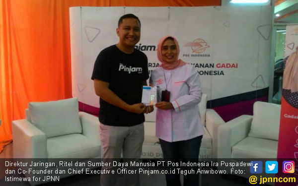 Luncurkan Gadai Online, Pos Indonesia Gandeng Pinjam.co.id - JPNN.COM