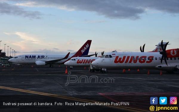 422 Pesawat Rute Internasional Landing di Manado - JPNN.COM