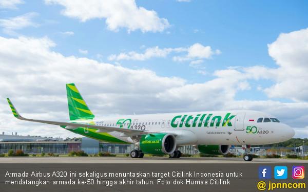 Tingkatkan Layanan, Citilink Gunakan A320 ke Banyuwangi - JPNN.COM