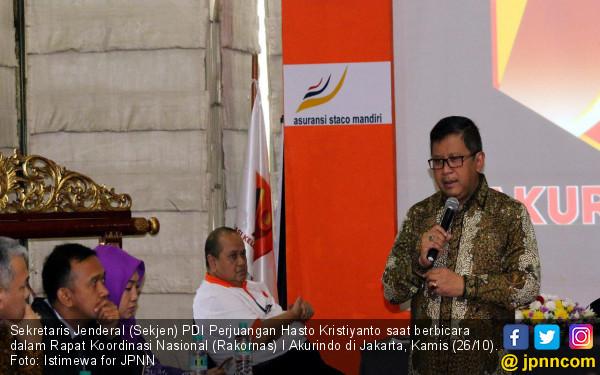 Sekjen PDIP Tantang Akurindo Gelorakan Semangat Berdikari - JPNN.COM