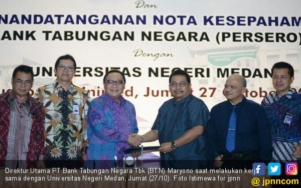 Hadapi Tantangan Perbankan, BTN Sasar Lingkungan Kampus - JPNN.COM