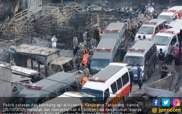 Warga Tahunya Pabrik Ayakan Pasir, Bukan Petasan - JPNN.COM