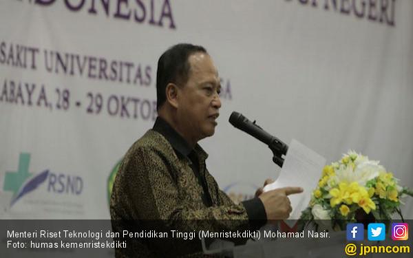 Menristekdikti Minta Rektor Batasi Jumlah Fakultas - JPNN.COM