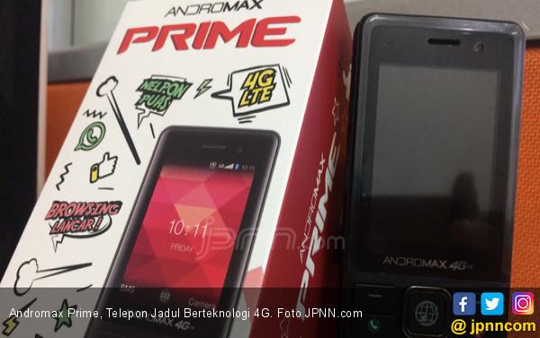 Andromax Prime, Telepon Jadul Berteknologi 4G - JPNN.COM