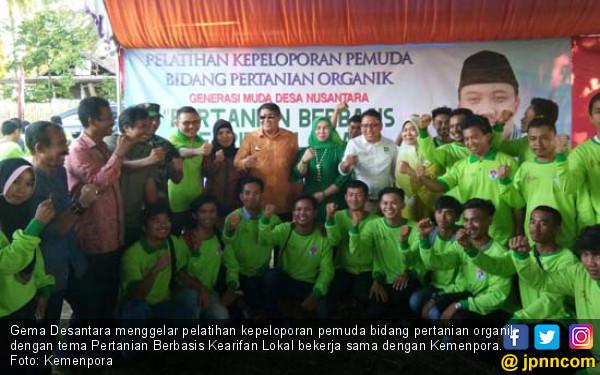 Gema Desantara-Kemenpora Siap Cetak 1.000 Pemuda Tani - JPNN.COM