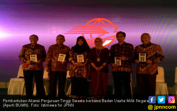 Aliansi 5 Perguruan Tinggi Milik BUMN Resmi Dibentuk - JPNN.COM